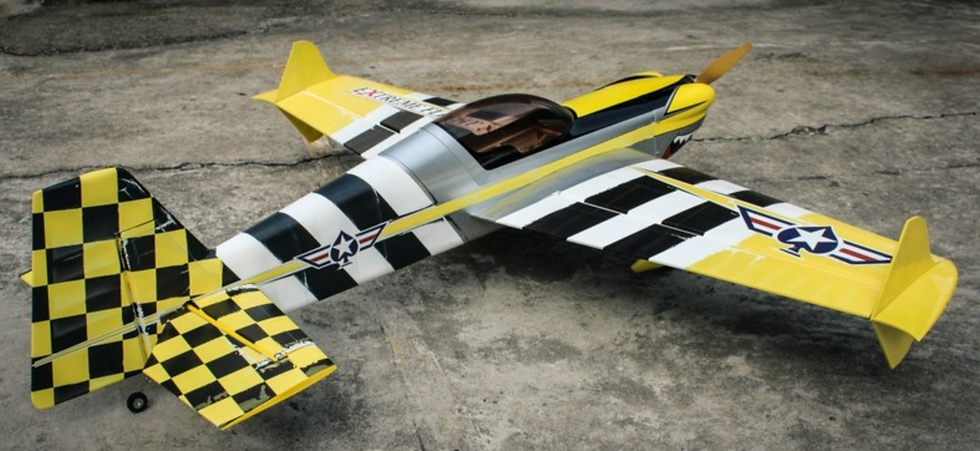 "Extreme Flight 64"" MXS ARF kit Heavy Metal"