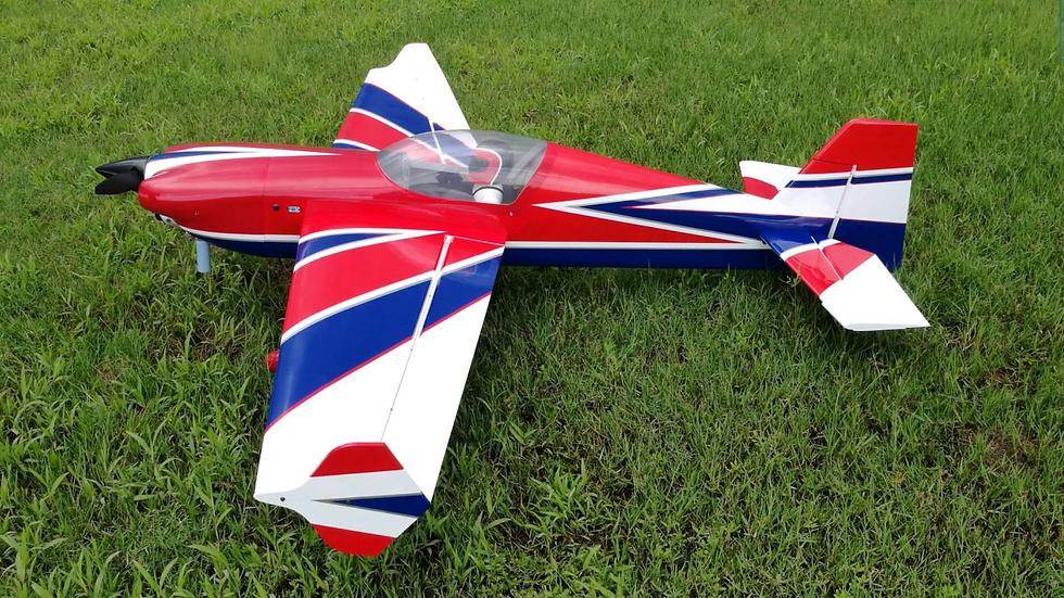 "Extreme Flight MXS 85"" Red/White"