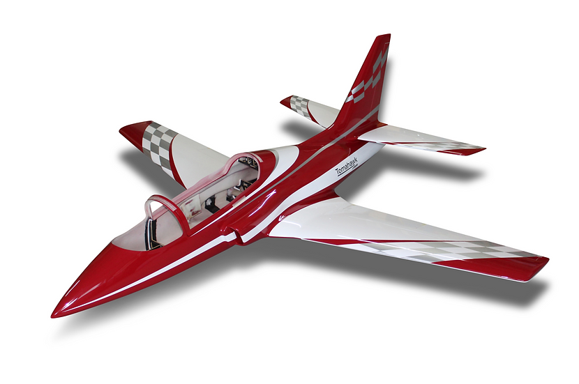 Viper Jet 2.0 m full composite kit painted type E dark red F blue/red combo with