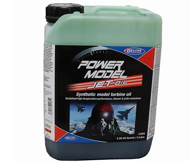Deluxe Materials POWER MODEL JET OIL 5 LITRE