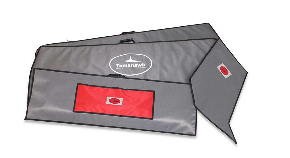 Wilga 3,7m wing protection bag set Codura