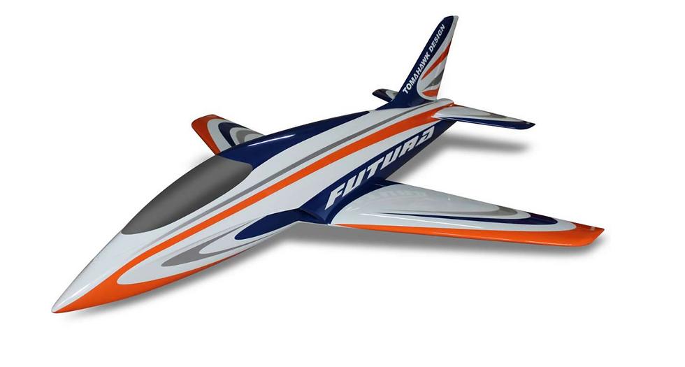 Futura 2,5 full composite kit painted type C orange / blue