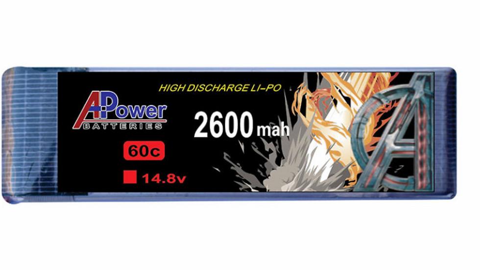 14.8V 2600mAh 60c