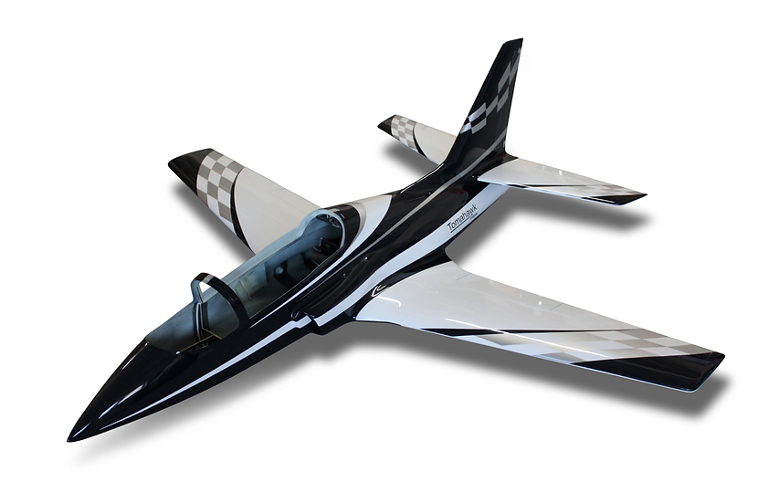 Viper Jet 2.0 m full composite kit painted type E dark blue combo with Electron