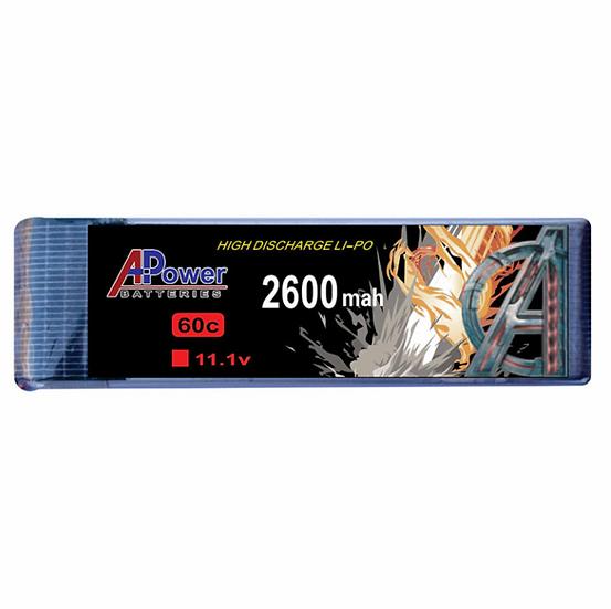 11.1V 2600mAh 60c