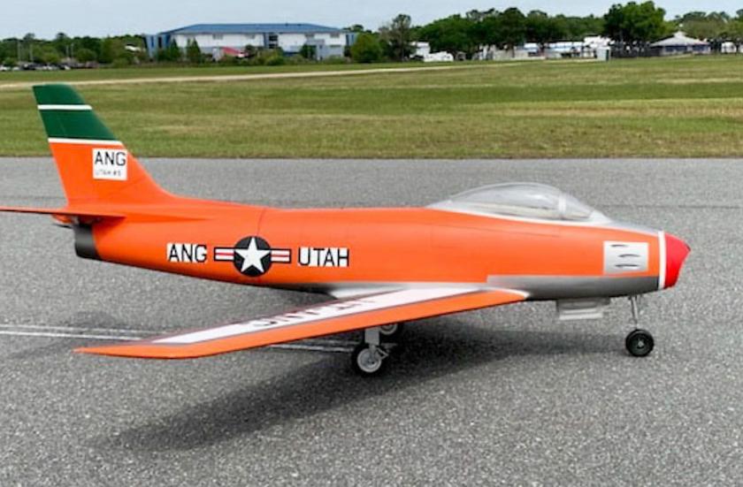 BVM  F-86 SABRE 1:5.8 Scale