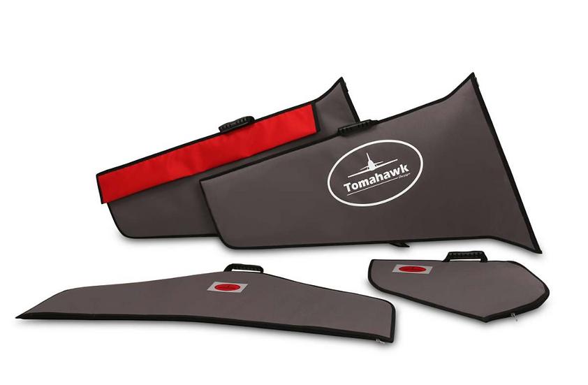 Viper 2,5m wing protection bag set Codura