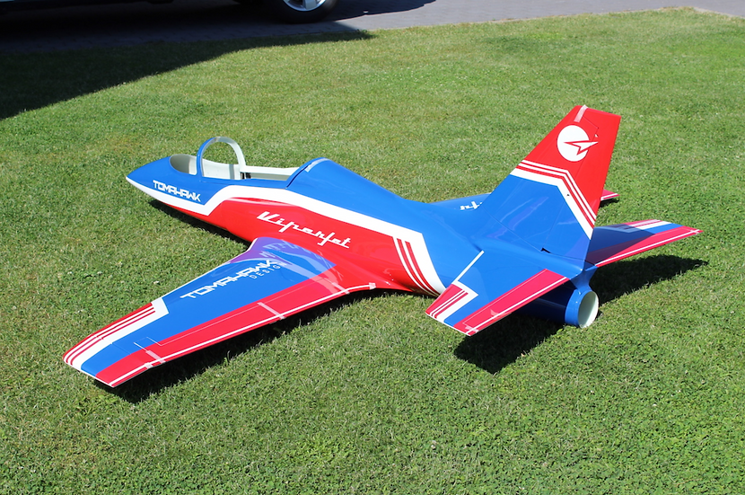 Viper Jet 2.0 m, painted type F blue/red