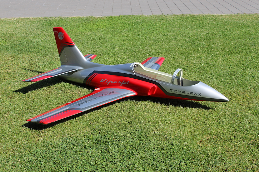 Viper Jet 2.5m type F red/silver combo with Electron retract