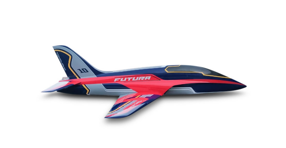 FUTURA full composite kit painted, type E-blue/red
