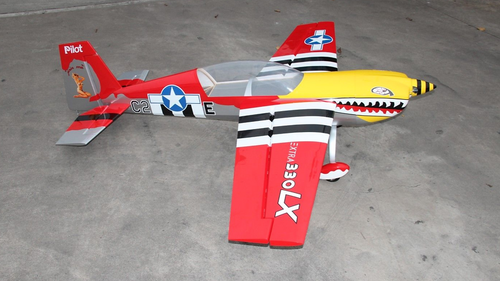 """)Extra 330LX 78"""" (Red/Yellow)"""