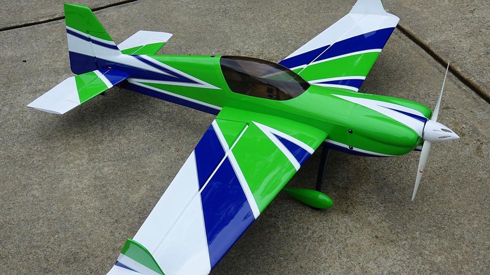 """Extreme Flight MXS 60"""" V2 Green/White"""