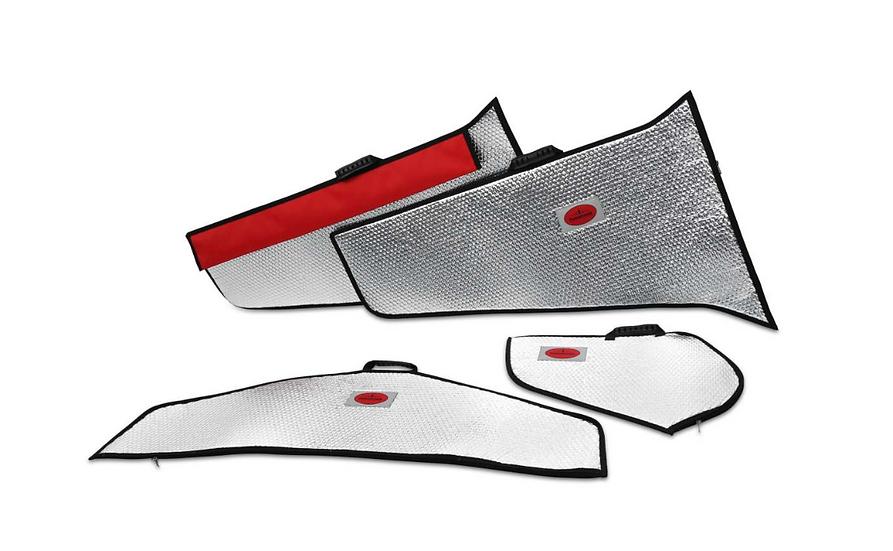 Viper 2,0m wing protection bag set silver