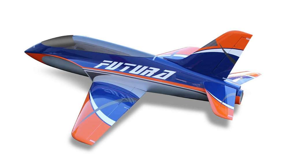 Futura 2,5 m full composite kit type B orange/blue