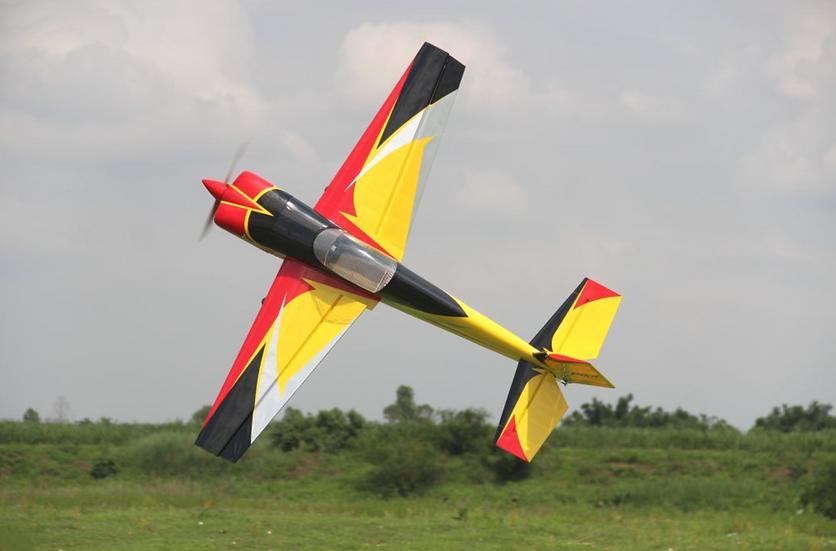 "Pilot RC Slick 67"" (Red/Yellow/Black)"