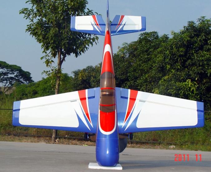 Pilot-RC 26% Yak-54 73in (1.85m) (Blue/Red Arrow)