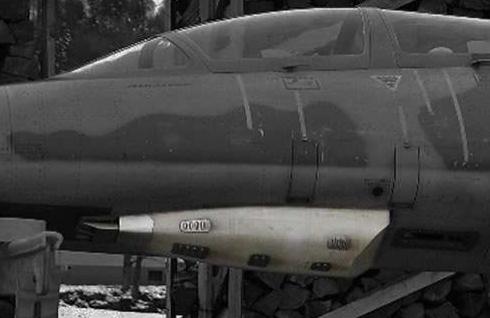 L39 Albatros XXXL machine gun scale