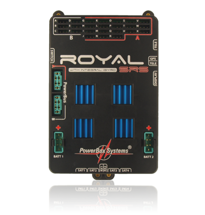 Powerbox Royal SRS inc display & GPS