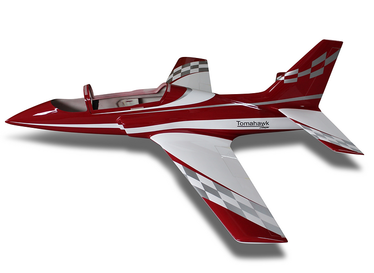 Viper 2.5m full composite glass / carbon kit type E dark red combo with Electron