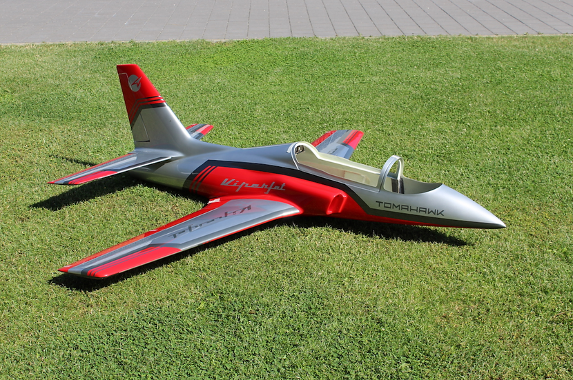 Viper Jet 2.0 m, painted type F red/silver