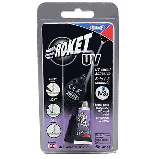 Deluxe Materials ROKET UV, AD88 5G