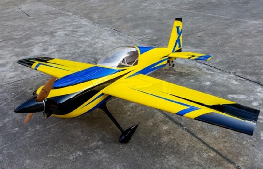 "Slick 580 74"" Yellow ARF kit"