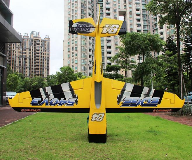 """Pilot RC 107"""" Edge 540 V3 (Yellow)"""