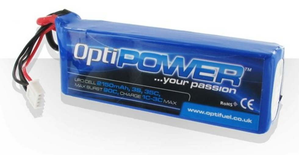 OPTIPOWER LITHIUM CELL 2550 3S
