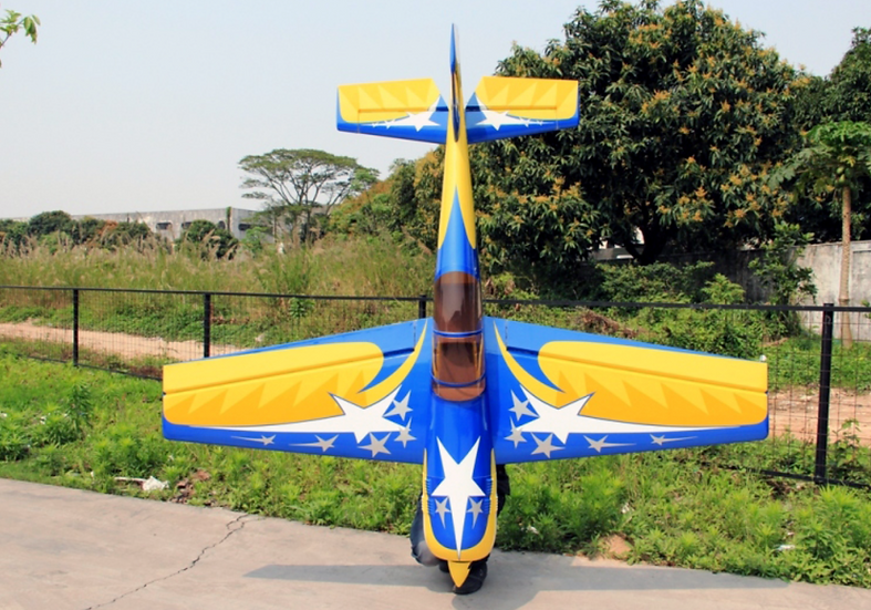 Pilot-RC 26% Yak-54 73in (1.85m) (Yellow/Blue Star)