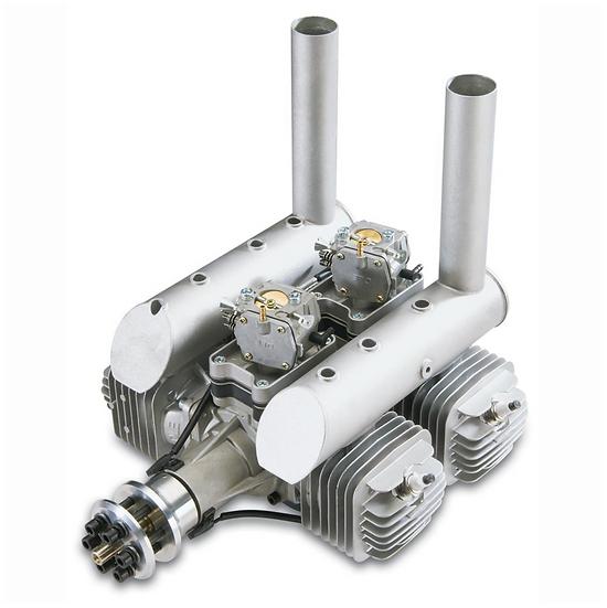DLE 222 Twin Four-Stroke Petrol Engine