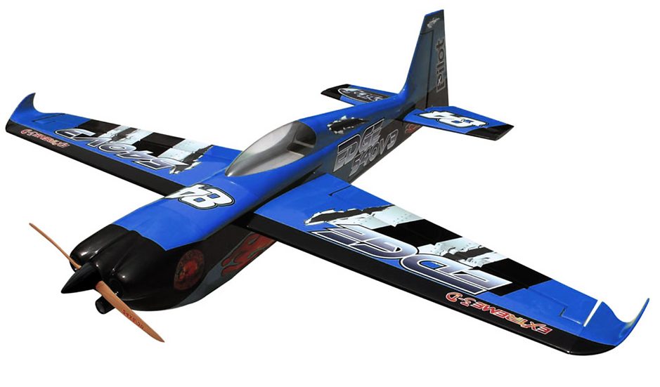 Pilot-RC 23% Edge-540 V3 67in (1.7m) (Blue/Black)