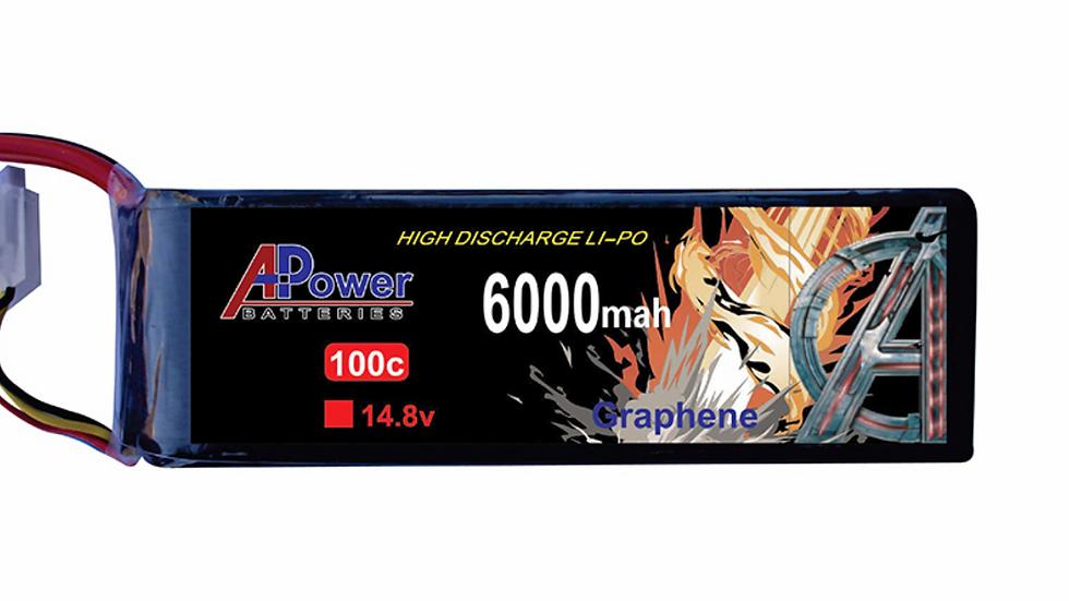 14.8V 6000mAh 100c