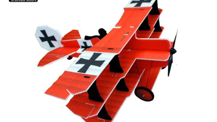 Crack Fokker Dr.I Triplane Red baron