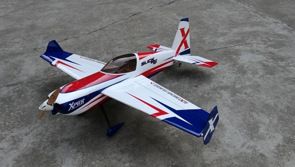 """Slick 580 52"""" White ARF kit"""
