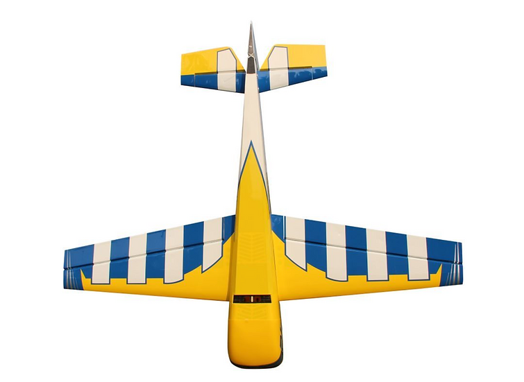 "PILOT LASER 67"" YELLOW/BLUE SCHEME"