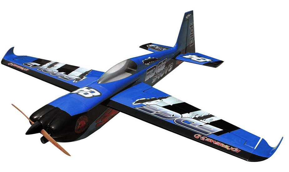 Pilot-RC 26% Edge-540 V3 78in (1.97m) (Blue/Black)