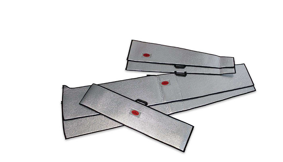ASG 32 7,7m wing protection bag set silver