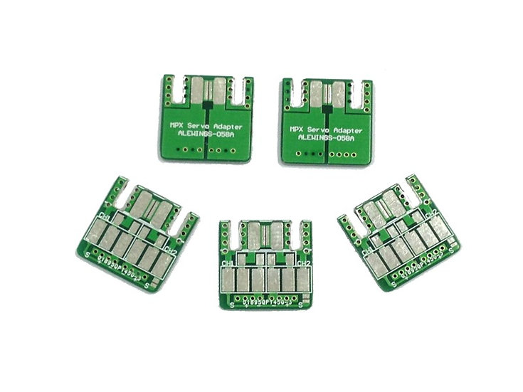 PCB Mpx Adapter with Mpx Connector set pack of 10