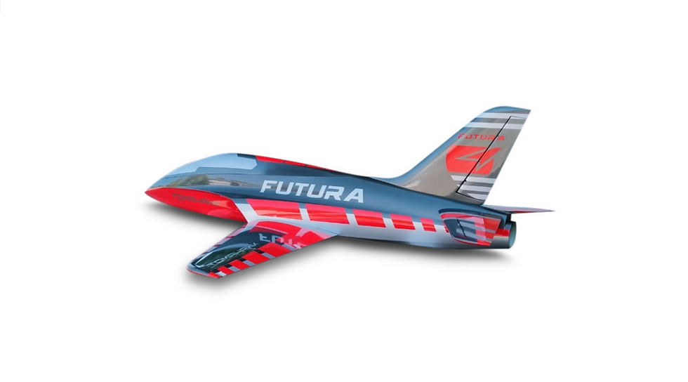 FUTURA 1,9 m full composite kit painted, type G-red