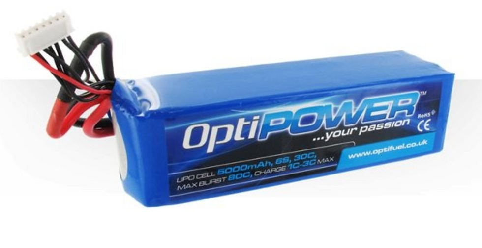 OPTIPOWER LITHIUM CELL 5000 6S