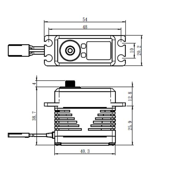 SB-2283MG DIGITAL SERVO