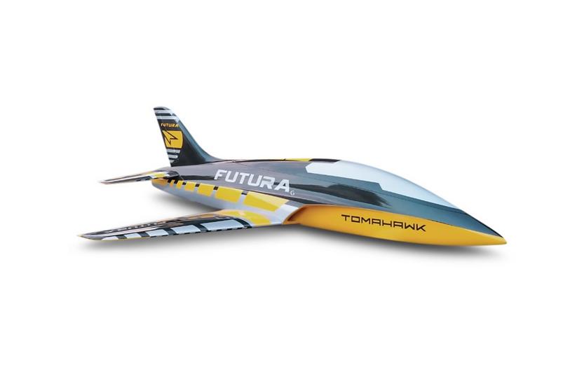 FUTURA 2,5m composite kit painted , type G-yellow