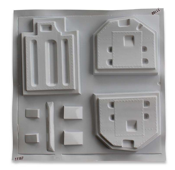 F-86 3,1m ABS thermo forming parts - deluxe scale