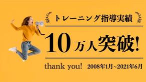 対応実績10万人突破!