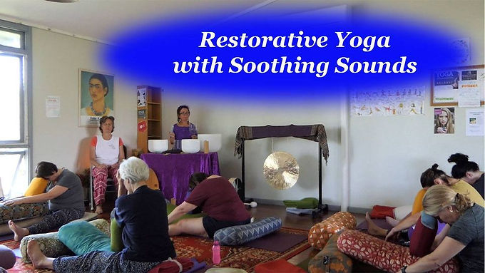 Restorative Yoga with Soothing Sound
