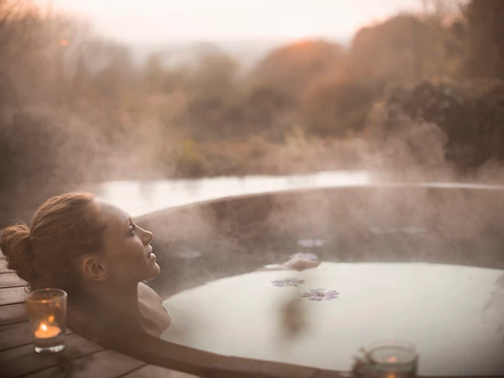 Meet you in the hot tub