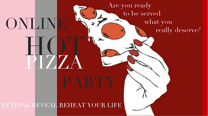 Online Pizza Party with a Difference