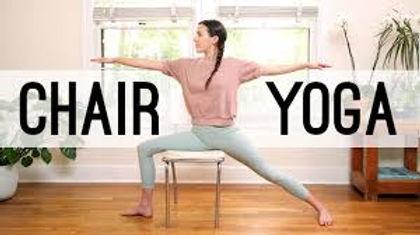 Online Chair Yoga
