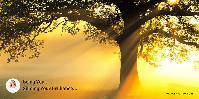 Being You...Shining Your Brilliance...