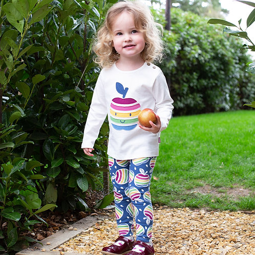 Kite Rainbow Apple Leggings